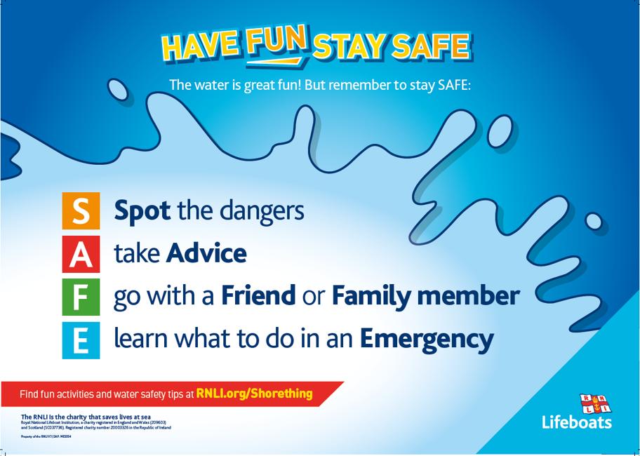 Water Safety Code - Water Safety Code RNLI - Birmingham