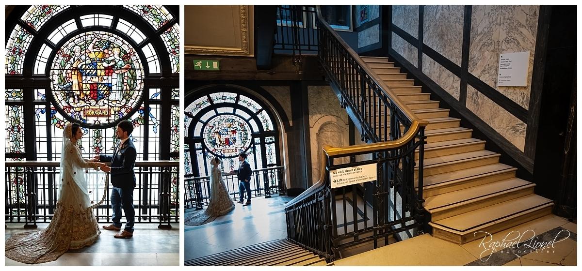 BirminghamMuseumandArtGalleryWedding 600 - Birmingham Museum and Art Gallery - Jeff and Najma