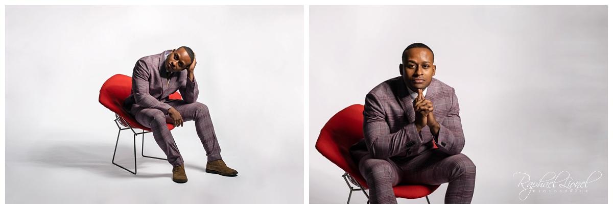 Modern Portraits  0001 - A Modern Portrait - The Don