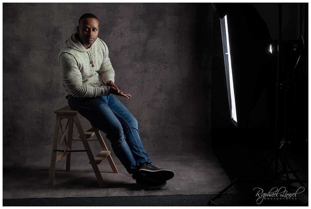Studio Launch Shoot 0005 - A Modern Portrait - The Don